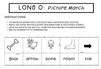 Spell by Patterns: LONG O BUNDLE