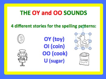 Spell by Patterns: OI AND OO SOUND STORIES