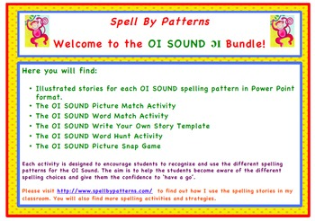 Spell by Patterns: OI SOUND BUNDLE