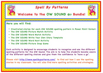 Spell by Patterns: OW SOUND BUNDLE
