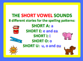 Spell by Patterns: SHORT VOWEL STORIES