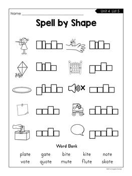Spell by Shape