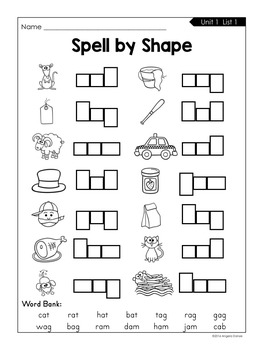 Spell by Shape