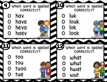 Spell it #2...Sight Word Edition