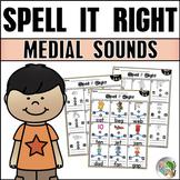 Medial Sounds Practice CVC Word Families