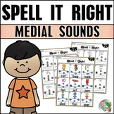 Medial Sounds Practice CVC Word Families