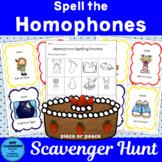 Spell the Homophone Scavenger Hunt