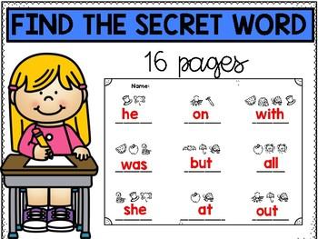 Spell the secret word