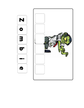 Spell the word: Zombie
