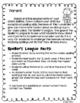 Speller's League (Advanced Spelling Lists)