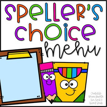 Speller's Choice Menu