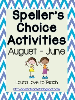 Speller's Choice Printables