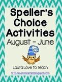 Speller's Choice Printables (Owl Themed)