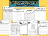 Speller's Choice Unit from Teacher's Clubhouse