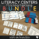 Word Work Centers for First Grade and Kindergarten