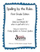Spelling - Initial and Medial /k/ - First Grade