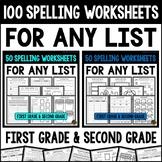 Spelling Practice ~ Spelling Homework