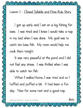 Spelling - 2nd grade Highlight Stories by 3Word Nerds | TpT