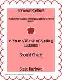 Spelling - A Year's Worth of Spelling Lessons for 2nd Grade