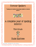 Spelling - A Year's Worth of Spelling Lessons for 3rd Grade