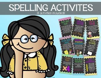 Spelling Activities {13 practice activities included!}