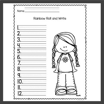 Spelling Worksheets for April