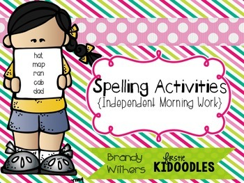 Independent Morning Work Spelling Activities