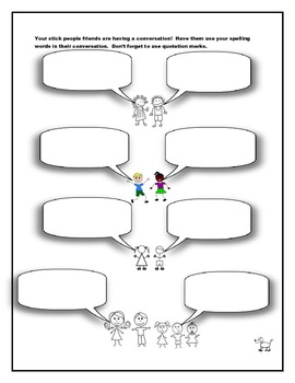 Spelling Activities for the Classroom or for Homework