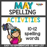 Spelling Activities for Any List May