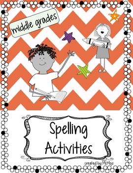 Spelling Activities (Middle Grades)