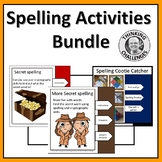 Spelling Activities Pack Distance Learning