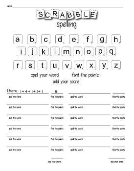 Spelling Activities Pack - multi-grade level