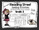 Spelling Activities Reading Street - Grade 2 Unit One