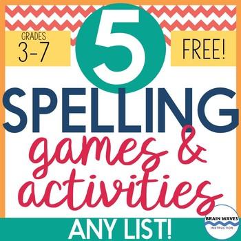 Spelling Activities, Spelling Games, Spelling Review, Spel