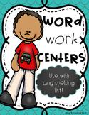 Spelling Activities/Word Work