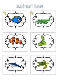 Spelling Activities Words Their Way Concept Sort Animals