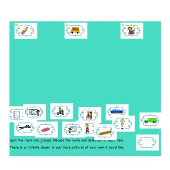 Spelling Activities|Words Their Way|Concept Sort Bundle