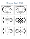 Spelling Activities Words Their Way Concept Sort Shapes