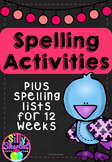 12 Week Spelling List and Activities