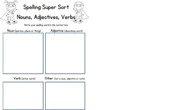 Spelling Activities for Any Spelling Unit