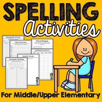 20 Daily Spelling Activities (Grades 4-8)