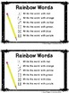 Spelling Activities for Any Words: Primary Grades