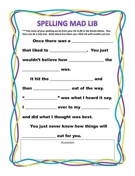 Spelling Activities for Everyone!