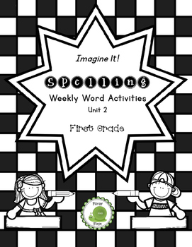 Spelling Activities for First Grade (Unit 2)