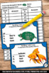 Spelling Task Cards, Set 2 Commonly Misspelled Words, Literacy Centers 2nd Grade