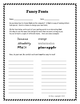Differentiated Spelling Practice: Independent Activities for ANY Spelling List
