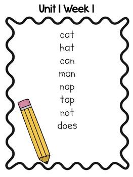 Spelling Activities for Wonders 1st Grade