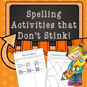 Spelling Activities that Don't Stink
