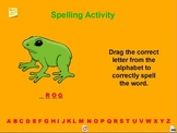 Spelling Activity 1 for the New Speller A Pinkley Product