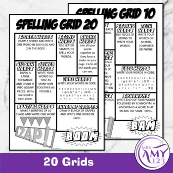 Spelling Grids
